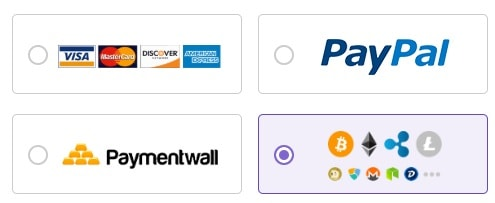 Hostinger India Payment options