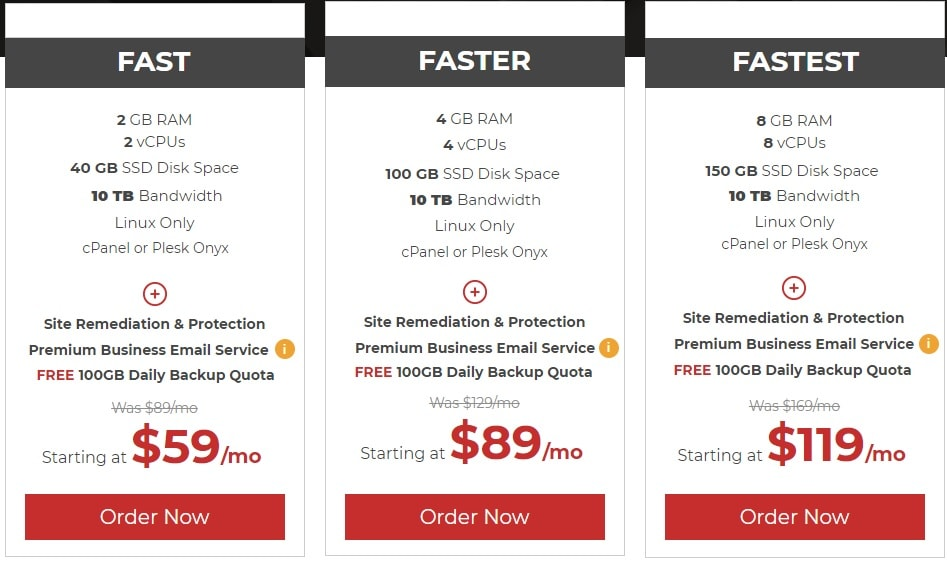 Black Friday Liquidweb VPS Deals