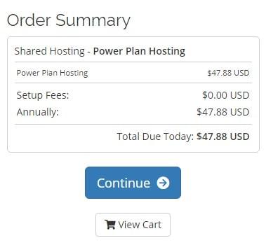 Webhostingpad Order