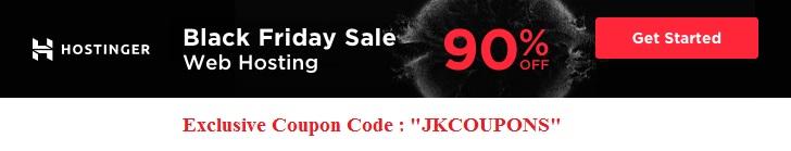 Hostinger Black Friday Sale 2019